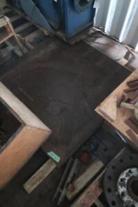 STEEL PLATE  ---  4L X 4W X 2 1/2 Thick
