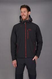 Men's Rab Salvo Softshell Jacket (Medium)