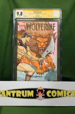 Wolverine #310  CGC 9.8 - original John Carter art sketch front & back cover ()