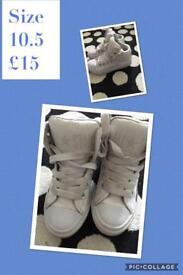 Girls shoe bundle size 10 & 10.5