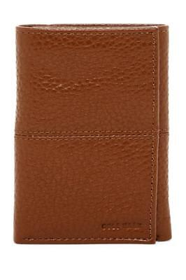 New in Box - COLE HAAN British Tan Pebble Leather Trifold Wallet