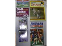 Cricket Golf American Football Books