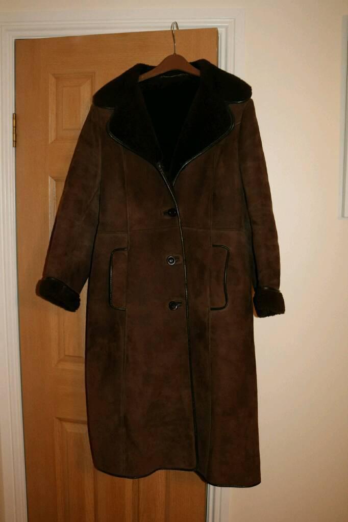 Vintage sheepskin jacket - womens