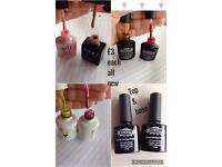 Gel polishes all new bottles £3 each can post