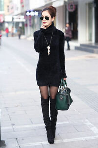 thickened  fluffy sweater