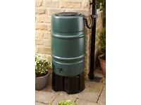 Rainwater Butt - 227 Litre. Save water from your drainpipe. Full kit & stand.