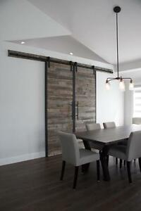 Locally Crafted: Customizable Reclaimed Wood Barn Doors Starting at $745 By LIKEN Woodworks