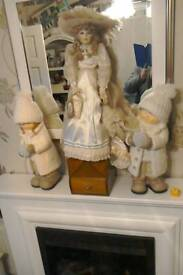 Porcelain doll Claudia
