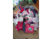 Bundle of baby girls clothes 12-18 months