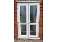 PORCH DOORS, double doors