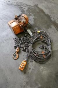KITO 1 Ton Electric Chain Hoist