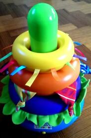Lamaze Spin n Stack Rings Toy