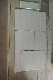 Ceramic wall tiles 16 size12x4 inch
