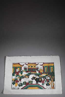 Art Asia Print, Slant of Dong Hô 1