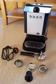 Baby Gaggia Espresso Coffee Machine In Great Condition With Free Coffee Pods Plus Blanking Disc