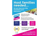 Host Families Required, Wirral