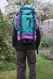 Wynnster 60 litre Rucksack for Serious Backpacking
