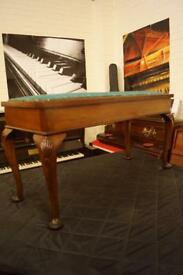 Piano duet bench with open top