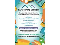 LA cleaning services...domestic and commercial cleaners
