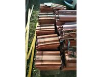 FREE Redland 49 Roof tiles - two years old can be reused or for hardcore/rubble
