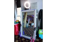 photo booth hire, magic mirror hire, magic mirror booth hire, wedding photo booth hire