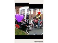 Stolen motorbikes