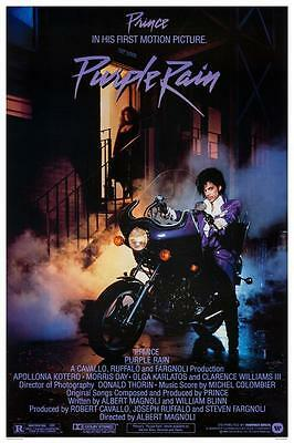 Prince - *LARGE POSTER*  - Purple Rain Print - AMAZING PICTURE -  Must See Image