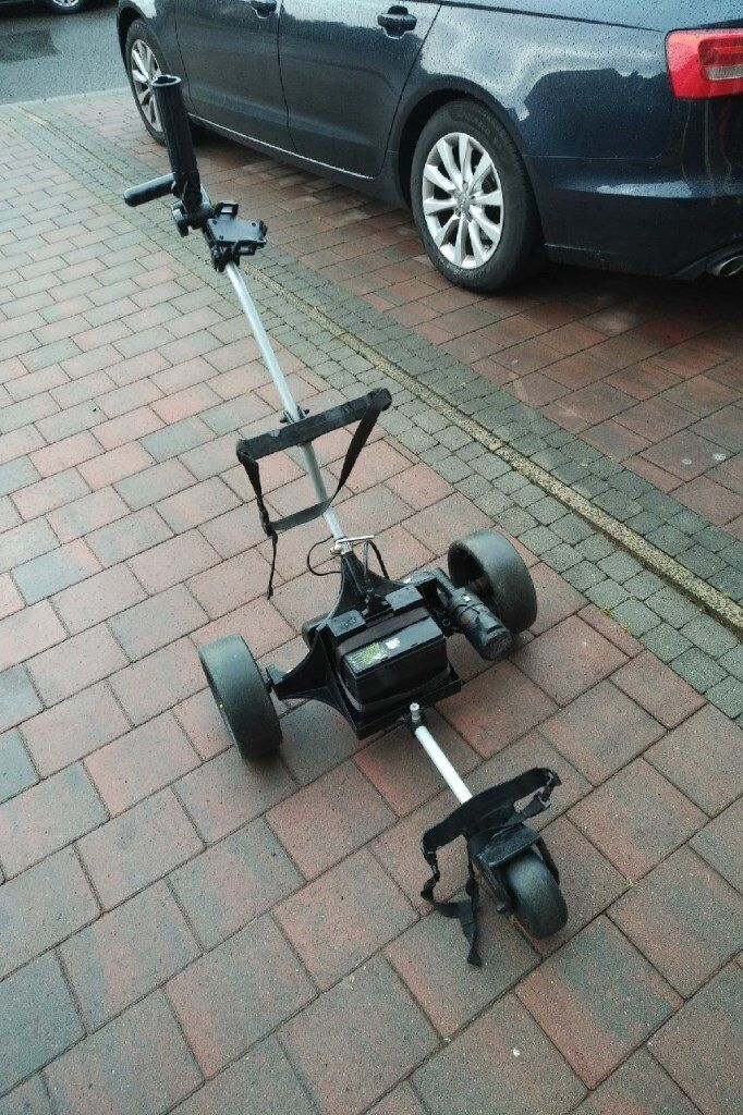 Powakaddy Classic Legend Electric Golf Trolley ready to use with battery  and charger | in Stranmillis, Belfast | Gumtree
