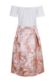 Size 14 off the shoulder dress