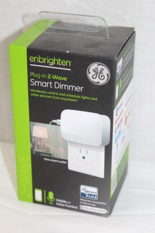 GE Enbrighten Plug-in Z-Wave Smart Dimmer (ZW3104) - White - NEW!