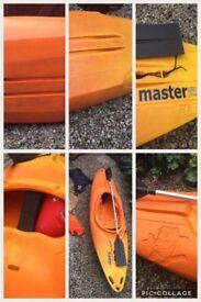 Pyranha master 265 kayak