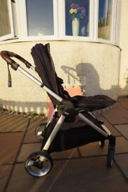 Mamas and Papas Flip XT Pram and Carrycot