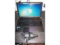 Toshiba Laptop, 2.1ghz core i3, Windows 7, 320gb Hdd, Wifi, Dvd-rw, 4Gb Memory