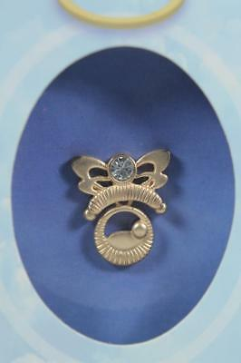 DM Wings & Wishes-Angel Tac Pin Titled 'Angel Of Birth' NEW In Box