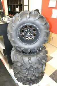 Brand NEW set of Mega Mayhems on ITP Hurricanes 27x9x12/27x11x12 for solid rear axle ATVs. Ad#3958963