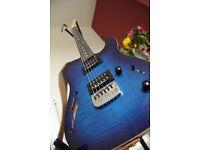 G&L ASAT Deluxe Semi Hollow - USA made - Blueburst