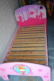 In The Night Garden Girls Kids Childs Todler Bed No Mattress