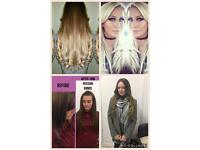 Hair extensions and hair services
