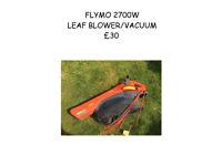 flymo leaf vacuum / blower