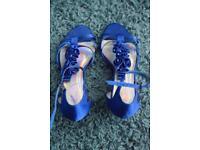 Blue Ladies Sandals For Sale
