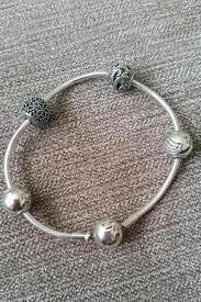 Essence Pandora bracelet & 4 Charms