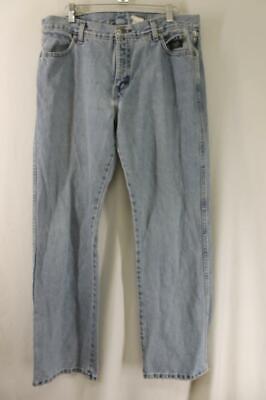 Harley Davidson Jeans Mens Size 34 X 32 blue Denim Logo Pants Bootcut
