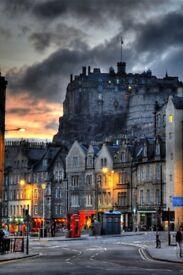 Photo Roller blind, Edinburgh print (brand new)