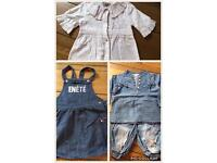 Clothes girl size 24 months