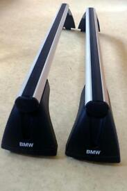 BMW Roof bars E87 / E90. Genuine OEM. Excellent condition. Suitable for 1 and 3 series saloons