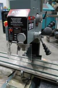 KING INDUSTRIAL 3/4 Milling & Drilling Machine With Digital Readout