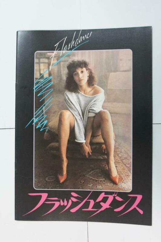 a2070 Flashdance 1983 Japanese Movie Pamphlet Program Japan Book