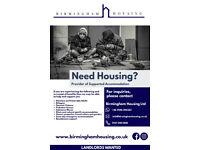 SUPPORTED/SHARED ACCOMMODATION - ROOMS AVAILABLE DSS