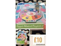 Peppa pig musical playmat & noisy friends game