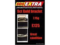 9ct Gold Braclet